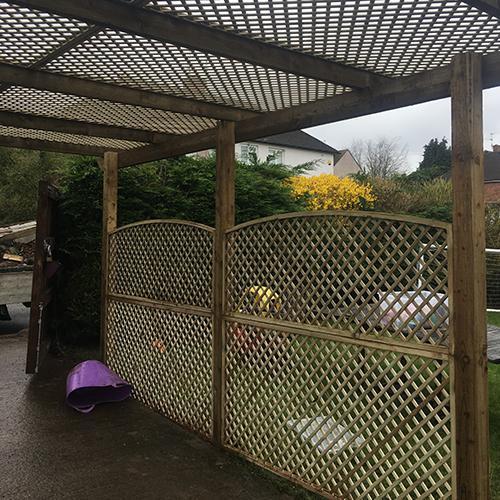 Garden Fencing Newport